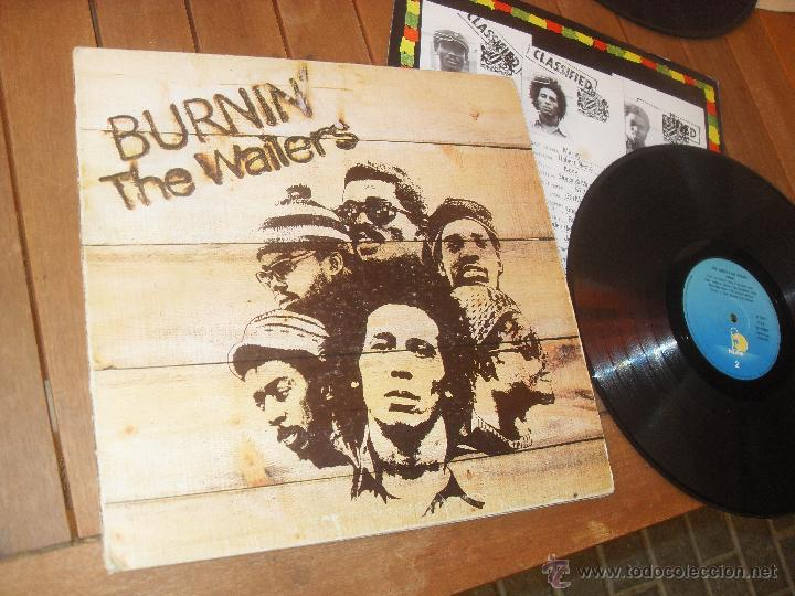 THE WAILERS. LP. BURNIN. MADE IN SPAIN. 1980. (Música - Discos - LP Vinilo - Reggae - Ska)
