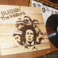 Discos de vinilo: THE WAILERS. LP. BURNIN. MADE IN SPAIN. 1980.. Lote 50333263