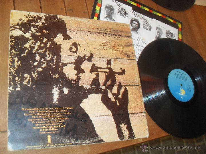 Discos de vinilo: THE WAILERS. LP. BURNIN. MADE IN SPAIN. 1980. - Foto 2 - 50333263