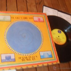 Discos de vinilo: TALKING HEADS. LP. SPEAKING IN TONGUES. MADE IN SPAIN. 1983. Lote 50338088