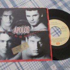 Discos de vinilo: APOLOS.DON´T ME BE MISUNDERSTOOD.. Lote 50338763