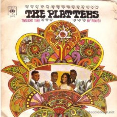 Discos de vinilo: SINGLE THE PLATTERS - TWILIGHT TIME EDITADO EN ESPAÑA CBS. Lote 50338995