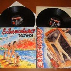 Discos de vinilo: EXTREMODURO DELTOYA DOBLE LP PRIMERA EDICIÓN. Lote 50341320