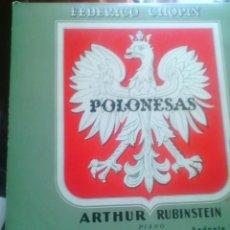 Discos de vinilo: POLONESAS DE CHOPIN -ARTHUR RUBINSTEIN-25 CM. Lote 50345991
