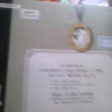 Discos de vinilo: R.SCHUMAN -CONCIERTO PARA PIANO PIANO CLARA HASKIL. Lote 50346372