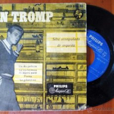 Discos de vinilo: JAN TROMP, UN DIA PERFECTO +3 (PHILIPS 1958) SINGLE EP - SILBA ACOMPAÑADO DE ORQUESTA. Lote 50349071