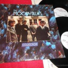 Discos de vinilo: THE MOODY BLUES COLLECTION 2LP 1985 THE COLLECTOR SERIES EDICION INGLESA ENGLAND UK GATEFOLD EX. Lote 50350065