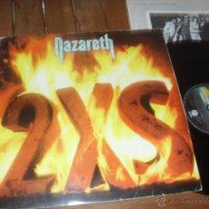 Discos de vinilo: NAZARETH LP. 2XS MADE IN SPAIN. 1982. Lote 50353539