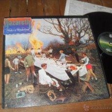 Discos de vinilo: NAZARETH LP. MALICE IN WONDERLAND. MADE IN SPAIN. 1980. Lote 50353749