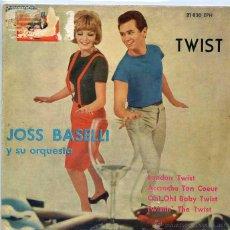 Discos de vinilo: JOSS BASELLI / LONDON TWIST / TWISTIN' THE TWIST + 2 (EP 1960). Lote 50354402