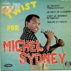 Discos de vinilo: MICHEL SYDNEY / LE TWIST DE SCHUBERT / TAIS-TO ET TWISTE + 2 (EP 1962). Lote 50355581