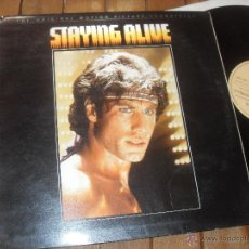 Discos de vinilo: STAYING ALIVE. ORIGINAL SOUNDTRACK. BEE GEES. MADE IN SPAIN. 1983. Lote 50356354