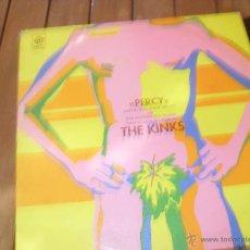 Discos de vinilo: PERCY ORIGINAL SOUNDTRACK. THE KINKS. MADE IN SPAIN 1972. Lote 50356555