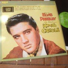 Discos de vinilo: KING CREOLE. ORIGINAL SOUNDTRACK. ELVIS PRESLEY. MADE IN SPAIN 1986. Lote 50356784