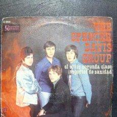 Discos de vinilo: SINGLE THE SPENCER DAVIS GROUP - EL SEÑOR SEGUNDA CLASE - INSPECTOR DE SANIDAD - HISPAVOX 1968.. Lote 50360941