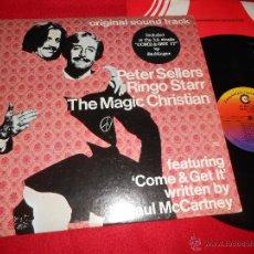 Discos de vinilo: THE MAGIC CHRISTIAN BSO OST PETER SELLERS RINGO STARR LP COMMONWEALTH EDICION AMERICANA USA BEATLES . Lote 50362164