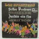 Discos de vinilo: LOS SPRINTERS - SEÑOR PROFESOR - EXTRAÑOS EN EL PARAISO - 1967 - FONTANA - EP - MUY BUSCADO - VG/VG. Lote 50363789