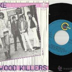 Discos de vinilo: HOLLYWOOD KILLERS SINGLE NO JOKE / BUTTERFLY - CARNABY 1982.EN PERFECTO ESTADO. Lote 50367342