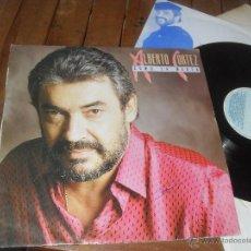 Discos de vinilo: ALBERTO CORTEZ LP. COMO LA MAREA. MADE IN SPAIN. 1988.. Lote 50367870