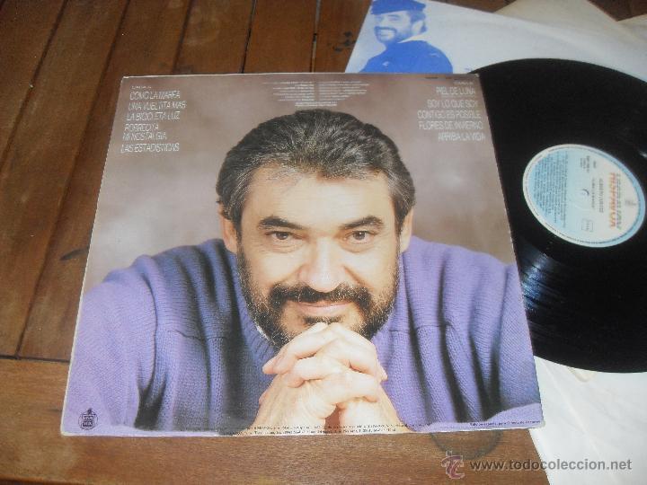 Discos de vinilo: ALBERTO CORTEZ LP. COMO LA MAREA. MADE IN SPAIN. 1988. - Foto 2 - 50367870