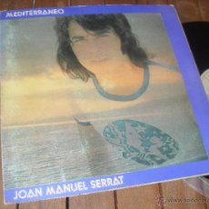 Discos de vinilo: JOAN MANUEL SERRAT LP. MEDITERRANEO. MADE IN SPAIN. 1971 MATRIX NLX 1031-S. NOVOLA.. Lote 50368253