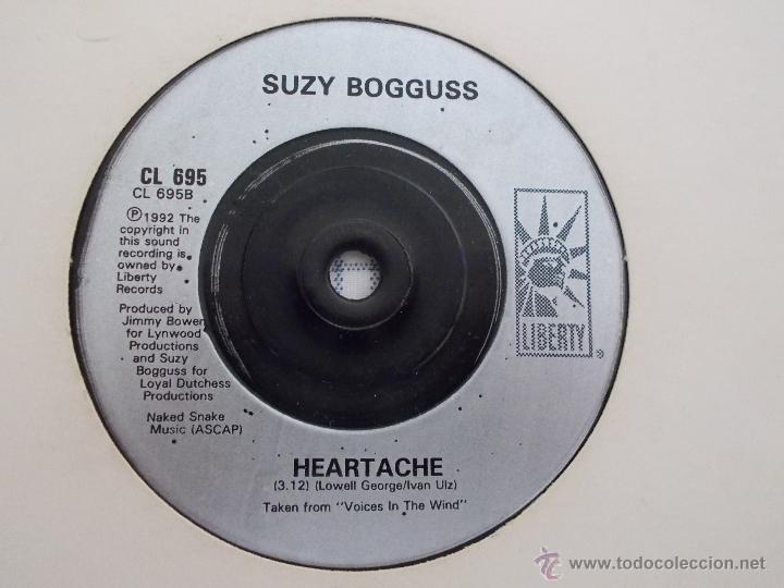 Discos de vinilo: SUZY BOGGUSS. HEY CINDERELLA.HEARTACHE - Foto 3 - 50370909