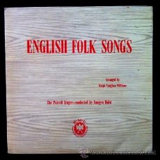 Discos de vinilo: ENGLISH FOLK SONGS - THE PURCELL SINGERS (EXCELENTE ESTADO). Lote 50371716