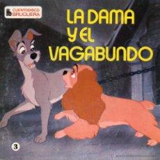Discos de vinilo: CUENTODISCO BRUGUERA - WALT DISNEY, EP, LA DAMA Y EL VAGABUNDO + 1, AÑO 1969. Lote 50372088