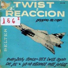 Discos de vinilo: PEPPINO DE CAPRI Y SUS ROCKERS / TWIST A REACCION VL I (EP 1962). Lote 50372334