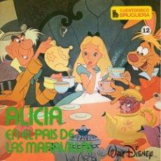 Discos de vinilo: CUENTODISCO BRUGUERA - WALT DISNEY, EP, ALICIA EN EL PAIS DE LAS MARAVILLAS + 1, AÑO 1969. Lote 50372397