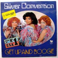 Discos de vinilo: SILVER CONVENTION - GET UP AND BOOGIE - LP BP/BELTER EDICION ESPECIAL CAJA AHORROS 1976 BPY. Lote 50374096
