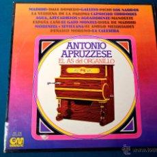 Discos de vinilo: PEDIDO MINIMO 3 DISCOS ANTONIO APRUZZESE EL AS DEL ORGANILLO - GM MUSIC 1977. Lote 50374344