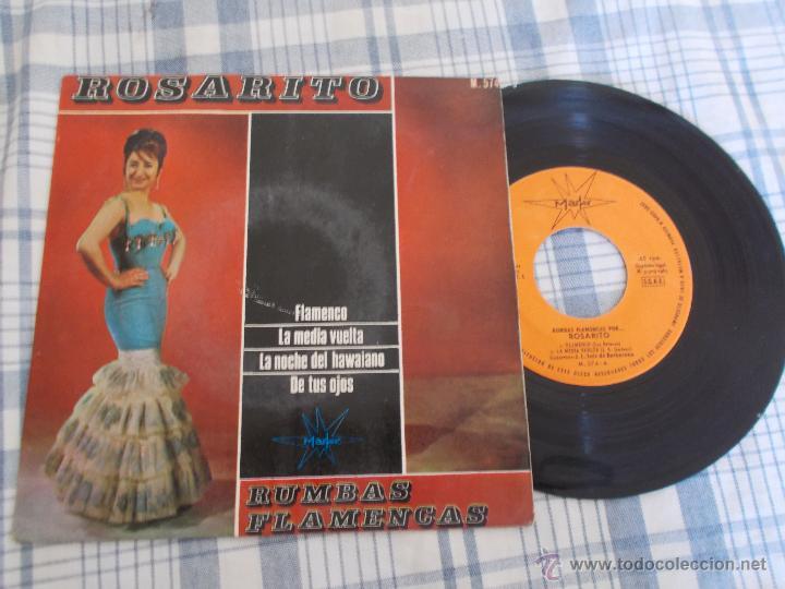 ROSARITO RUMBAS FLAMENCAS. (Música - Discos de Vinilo - EPs - Flamenco, Canción española y Cuplé)