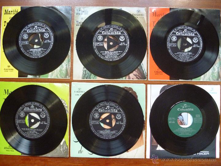 Discos de vinilo: Coleccion Marife de Triana 6 single columbia alhambra - Foto 4 - 50377547
