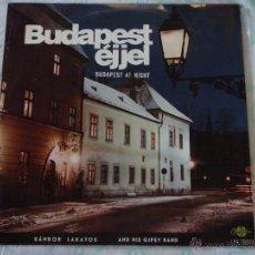 Disques de vinyle: SANDOR LAKATOS & HIS GIPSY BAND ( BUDAPEST AT NIGHT ) HUNGARY LP33 QUALITON. Lote 50378546