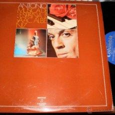 Discos de vinilo: ANTONIO EL BAILARÍN LP ISAAC ALBENIZ - MÚSICA DE ESPAÑA .1972.EN PERFECTO ESTADO . Lote 53380173