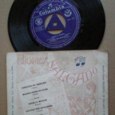 Dischi in vinile: ANA MARIA REY - CORAZON EN TRINIDAD +3 - EP COLUMBIA 1961. Lote 50386178