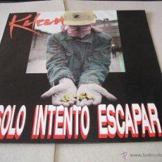 Discos de vinilo: KALEAN LP SOLO INTENTO ESCAPAR AVISPA ORIGINAL ESPAÑA 1992 + ENCARTE + HOJA DE PRESENTACIÓN. Lote 50392472