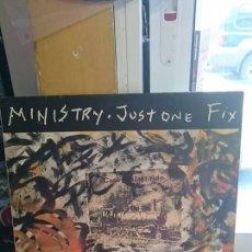 Discos de vinilo: MINISTRY / JUST ONE FIX / SIRE 1992. Lote 50392537
