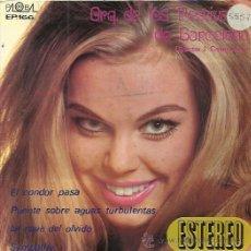 Discos de vinilo: ORQUESTA DE LOS FESTIVALES DE BARCELONA EP PALOBAL 1970 PROMO EL CONDOR PASA +3 . Lote 50393250
