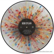 Discos de vinilo: BOB DYLAN LP FIRST ALBUM VINILO EDICION LIMITADA MULTICOLOR. Lote 194286320