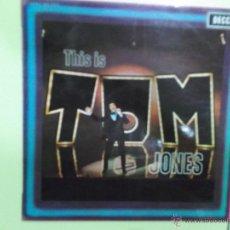 Discos de vinilo: TOM JONES - DECCA ESTEREO 1969. Lote 50394749