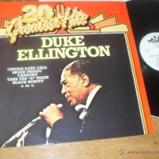 Discos de vinilo: DUKE ELLINGTON LP. 20 GREATEST HITS. MADE IN HOLLAND.. Lote 50395237