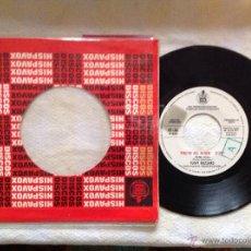 Discos de vinilo: TUCKY BUZZARD SG. YOU'RE ALL ALONE +FREE TICKET PROMOCIONAL 1971. Lote 50401875