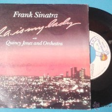 Discos de vinil: FRANK SINATRA: L. A. IS MY LADY (WITH QUINCY JONES AND ORCHESTRA). Lote 50407636