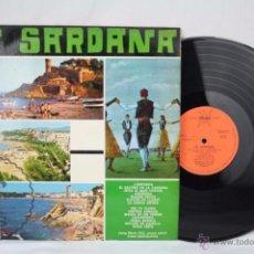 Discos de vinilo: DISCO LP VINILO - LA SARDANA - ED. MARFER - ESPAÑA, AÑO 1966. Lote 50408682