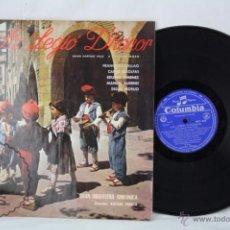 Discos de vinilo: DISCO LP VINILO - LA LEGIÓ D'HONOR - ORFEÓ GRACIENC - ED. COLUMBIA - ESPAÑA, AÑO 1965. Lote 50408753