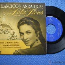 Discos de vinilo: LOLA FLORES VILLACINCOS ANDALUCES EP SPAIN 1958 PDELUXE. Lote 50408985
