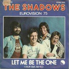 Discos de vinilo: THE SHADOWS SINGLE SELLO EMII EDITADO EN ESPAÑA FESTIVAL DE EUROVISION AÑO 1975 INGLATERRA. Lote 50410615