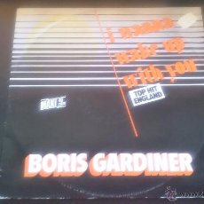 Discos de vinilo: BORIS GARDINER - I WANNA WAKE UP WITH YOU - 1986. Lote 50411512